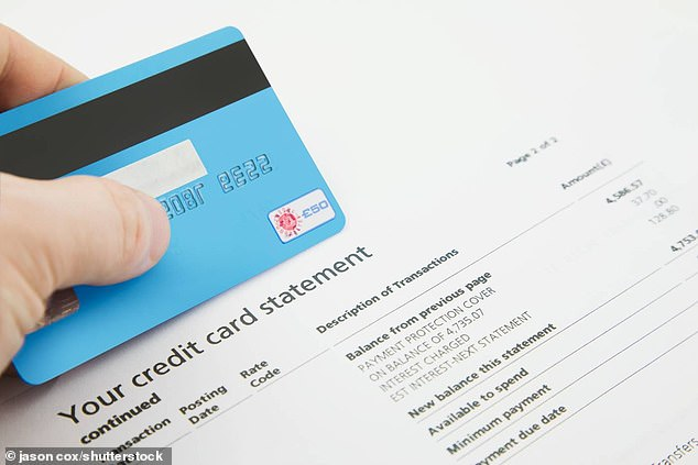Credit card charges hit document excessive as banks squeeze poorer debtors