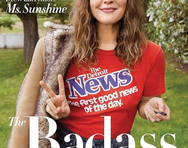 Drew Barrymore, 45, does Pilates and eats 'clear' to remain as skinny as she was in her 20s
