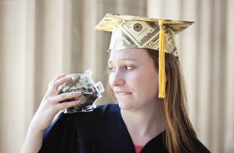 Start paying off your student loans as quickly as doable, even earlier than commencement