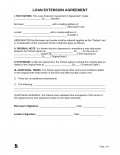 Free Loan Agreement Templates - PDF | Word
