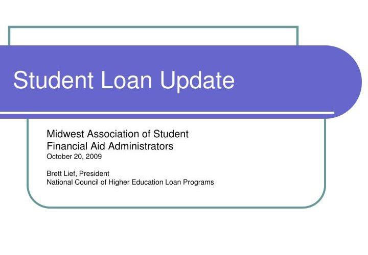 PPT – Student Loan Update PowerPoint Presentation, free obtain