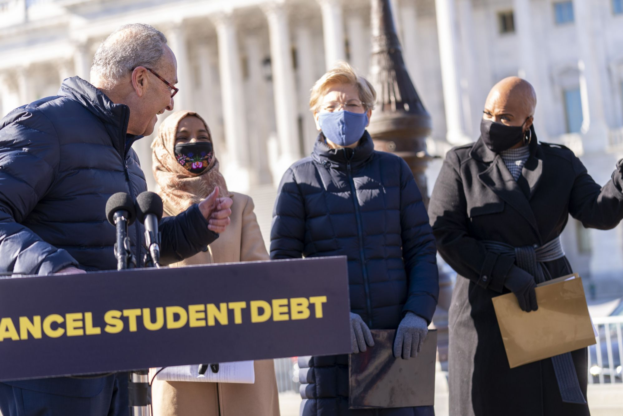 Less than half of Americans support student loan forgiveness: poll