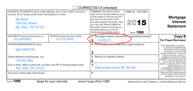 Understanding Your Forms Form 1098 Mortgage Interest Statement Mortgage Interest Student Loan Interest Finance Saving