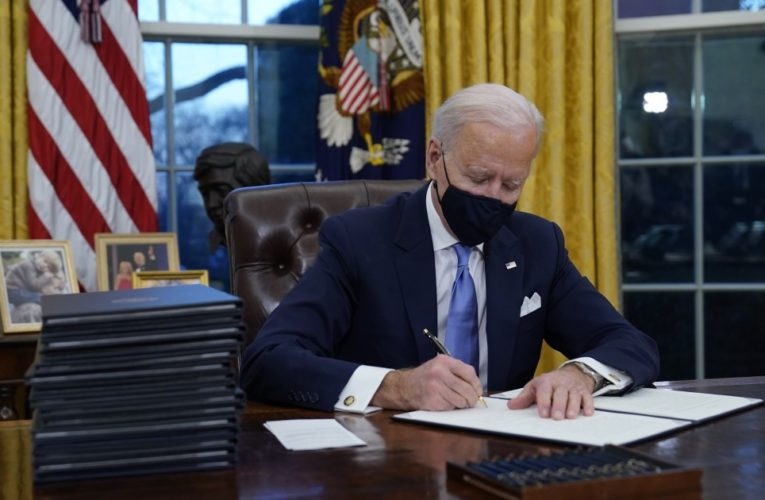 Biden's govt orders will lengthen student loan pause, rejoin WHO, cease border wall building