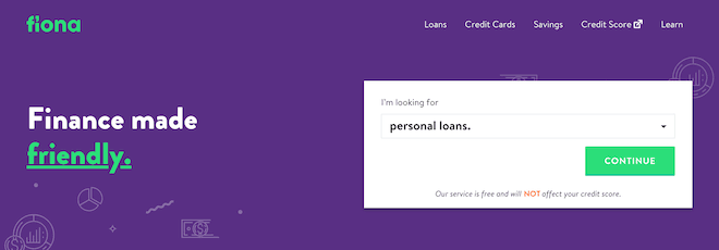 Fiona Review - Personal Loans