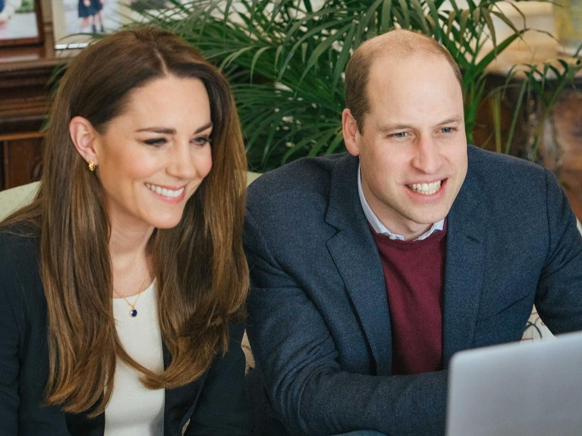 Prince William and Kate thank student nurse who shared video diary of Covid-19 ward