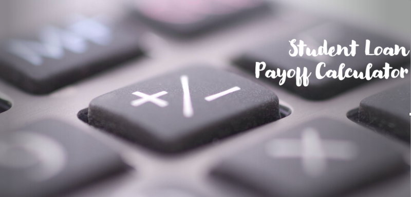 Student Loan Payoff Calculator - Early Payoff