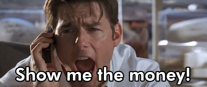 show me the money jerry maguire