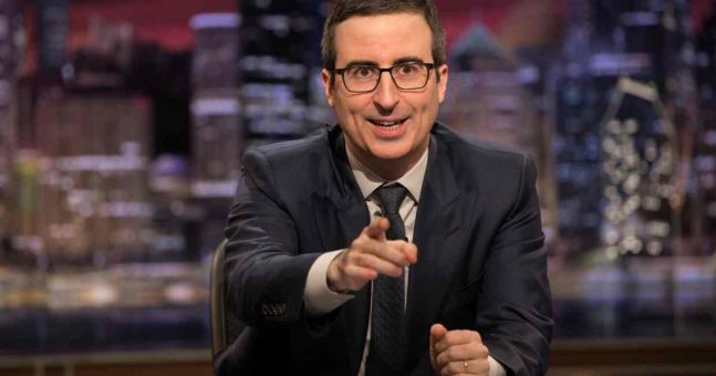 John Oliver has simply paid off $15m price of student debt