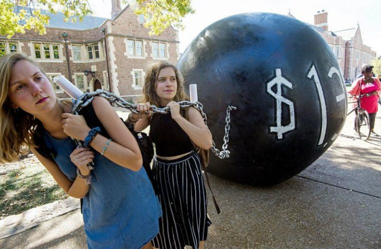 Student debt cancellation advocates inspired by Biden, others stay skeptical